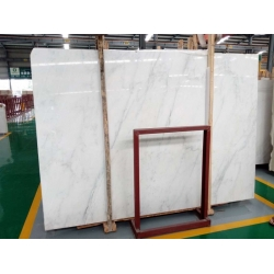 China calacatta marble polished big slabs