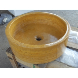 polished marble basins