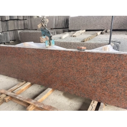 Maple Red Granite G562 slabs