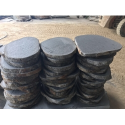 natural basalt crazy paving tile