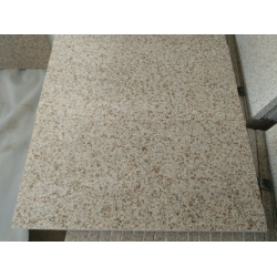 flamed G682 granite yellow granite tile