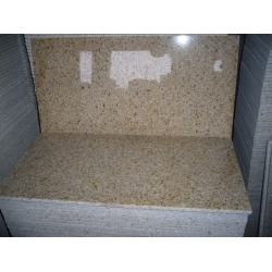 Polished G682 granite yellow granite tile